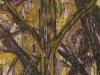 skogen-rood-en-geel-gemengde-techniek-acryl-klei-collage-en-o-i-inkt-56x200